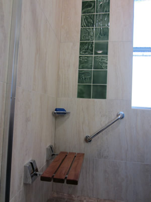 Custom tiling - Boston Bathroom Remodel