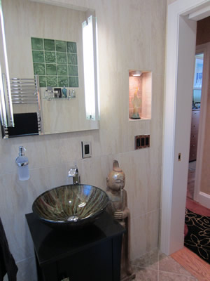 Boston bathroom remodel - by TPM Construction of Salem, New Hampshire