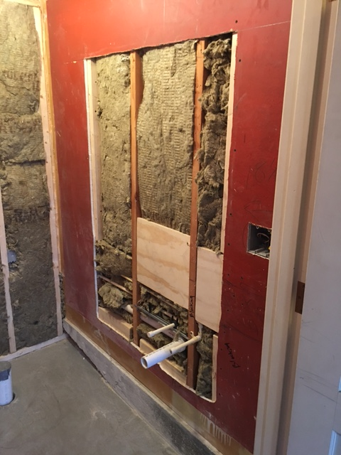 Bathroom renovation at a residence in Lexington, MA by TPM Construction