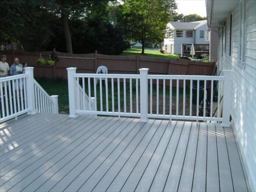 Deck remodel in Stoneham, MA by TPM Construction