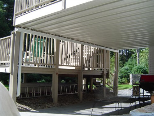 Deck remodel in Andover, MA by TPM Construction
