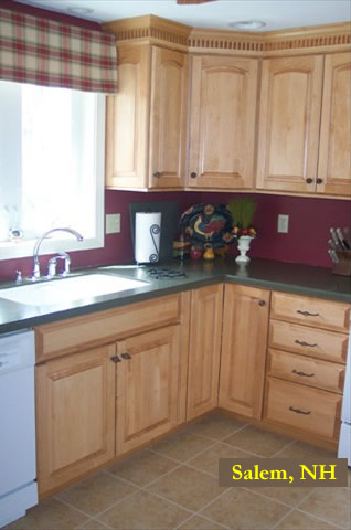 Kitchen remodel - Salem, New Hampshire by TPM Construction.  Call for a free estimate (603) 396-5974