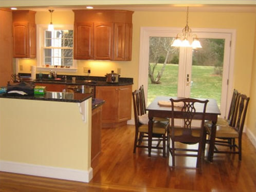 New Kitchen Remodel, Wenham, MA - by TPM Construction, Salem, New Hampshire
